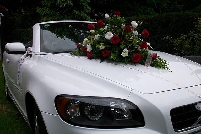 Hochzeitsauto mit Chauffeursservice
