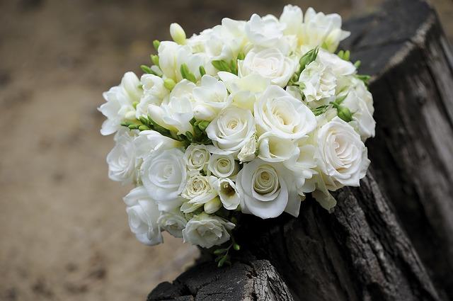 Brautstrauß-Hochzeitsblumen