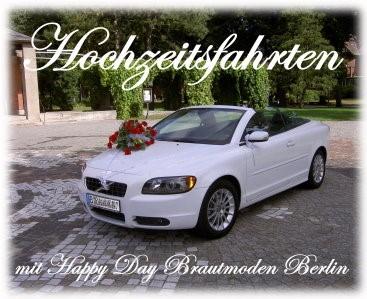 Hochzeitsauto Happy Day Brautmoden Berlin